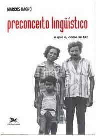 Capa do livro Preconceito linguístico