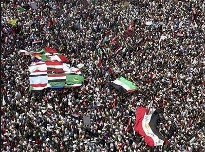 Protestos no mundo árabe