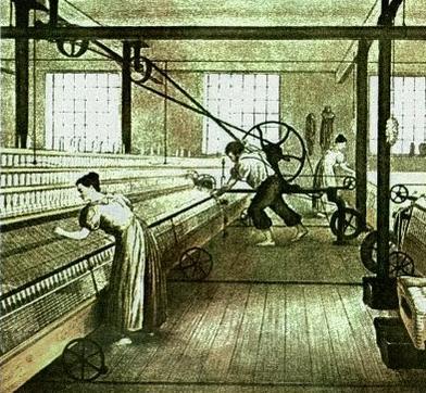 Máquins da revolução industrial.