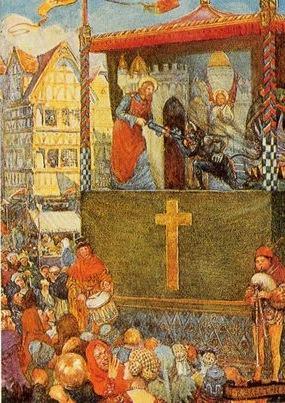 Encenação litúgica do teatro medieval