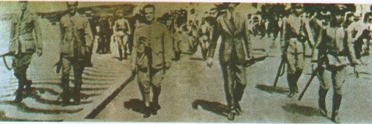 O começo do movimento tenentista no Rio de Janeiro.