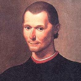 Retrato de Maquiavel, teórico absolutismo