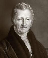 Retrato de Thomas Malthus