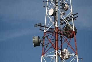 Torre de transmissão de ondas eletromagnéticas