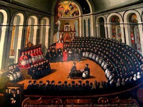 Representação do Concílio de Trento