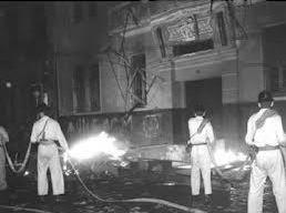 UNE incendiada em 1964 pela ditadura militar