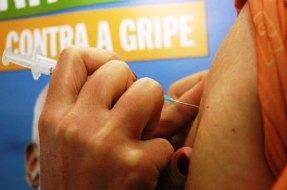 Campanha de vacinação contra a gripe suína